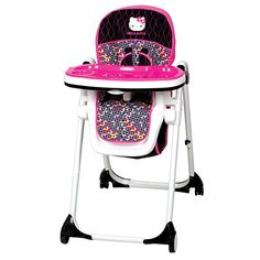 Hello Kitty® Pin Wheel Mylift High Chair by Baby . Hello Kitty® Pin Wheel Mylift High Chair by Baby Trend Baby Trend Car Seat, Baby Car Seats, Best Baby Strollers, Hello Kitty Baby, Kawaii, Baby Bedroom, Reborn Babies, Baby Feeding, Baby Dolls