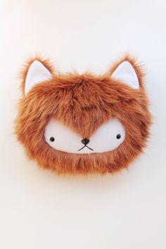 bijoukitty foxy bed top pillow