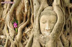 Ayutthaya è senza ombra di dubbio una delle località più affascinanti dell'intera Thailandia. La cittadina odierna sorge alla confluenza di tre fiumi: il Mae Nam Chao Phraya, il Mae Nam Pa Sak e il più piccolo Mae Nam Lopburi, collegati tra loro da un ampio canale che si snoda intorno all'intero perimetro cit