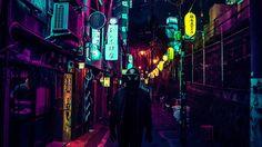 Liam Wong geniale games designer trekt zijn surrealistische wereld door naar zijn magistrfale fotografie van Tokio. Japanse hoofdstad by neonlight.