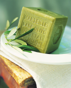 Marseille soap: the only kind I use. Pre de Provence Linden and Vervaine are faves. La Provence France, Olives, Limpieza Natural, French Soap, Savon Soap, Olive Oil Soap, Olive Tree, Handmade Soaps, Handmade Cosmetics