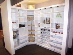 Large Kitchen Pantry Cabinet