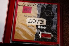 Make your Mom, Grandmother, Spouse, Dad, or anyone a scrapbook containing any special number of things you love about them.