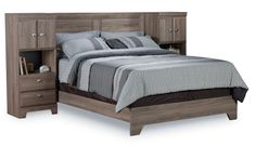Yorkdale Light Queen/Full Pier Bed | The Brick