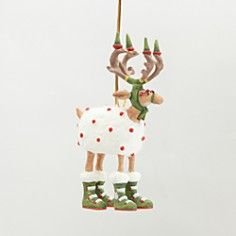Patience Brewster Mini Blitzen Ornament