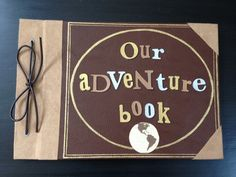 This is so sweet - an Adventure book photo album inspired by Up