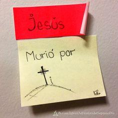 Porque tanto amó Dios al mundo, que dio a su Hijo unigénito, para que todo el que cree en él no se pierda, sino que tenga vida eterna. Juan 3:16
