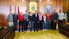 Firma de convenios entre los clubs deportivos de Calp y el Ayuntamiento.
