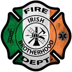 Irish Brotherhood Decal is great to show your Irish Firefighter Pride! Makes a wonderful Firefighter Gift! Firefighter Decals, Female Firefighter, Firefighter Shirts, Volunteer Firefighter, Fire Dept, Fire Department, There Goes My Hero, Fire Trucks, Shirt Shop