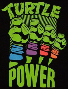 Turtle Power tee