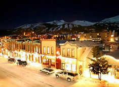 Breckenridge Colorado! I'd love to go back sometime!