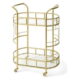 Better Homes and Gardens Fitzgerald Serving Cart