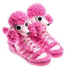 Adidas Poodle – Sneakers les plus WTF de Jeremy Scott.... Hahahaha cute,  for my princess !