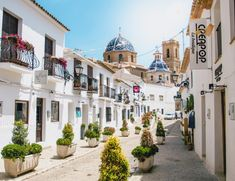 Altea: The Santorini of Spain - Adventure at Work