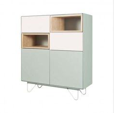 Vintme Cabinet in Mint