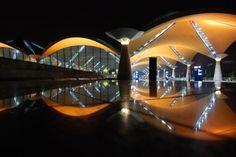 Kuala Lumpur International Airport  by Japanese architect Kisho Kurokawa.