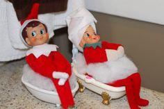 Elf on the Shelf idea   Calgon!