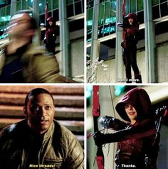 """#Arrow 3x23 """"My Name is Oliver Queen"""" - Thea & Diggle"""