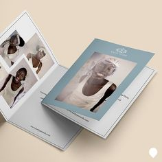 Take a look at these gorgeous Folded Leaflets that we have printed for accessory designer Katty Jenneh for her promotion at AMCWF16 #print #design #fashion #hats #leaflet #weddings #photography
