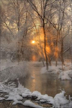 you Have Christmas Snow Yet? If Not Enjoy these Snow Photos One of my favorite photos of a winter sunrise.One of my favorite photos of a winter sunrise. Winter Pictures, Nature Pictures, Lake Pictures, Winter Scenery, Winter Sunset, Winter Snow, Winter Magic, Snow Scenes, Winter Beauty