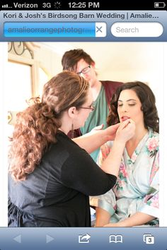 Working to make people feel and look beautiful. Orlando makeup artists, Orlando hairstylists