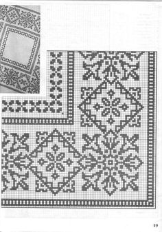 This Pin was discovered by Arz Cross Stitch Sampler Patterns, Cross Stitch Borders, Cross Stitch Rose, Cross Stitch Alphabet, Needlepoint Patterns, Embroidery Patterns Free, Cross Stitching, Filet Crochet, Crochet Cross