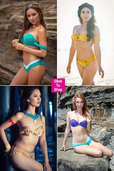 Feast Your Eyes On This Disney Princess-Inspired Bikini Line: Would You Wear One?
