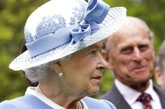 House of Windsor:  The Queen with Prince Philip looking on