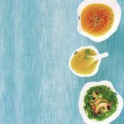 Trois bouillons détox - une recette Soupe