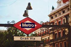 Metro Gran Vía em Madrid
