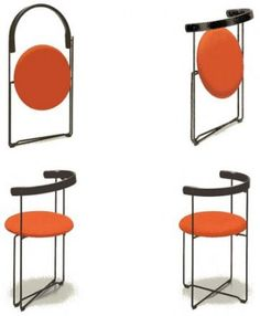 """Sóley"" chair (1985) by architect Valdimar Harðarson"