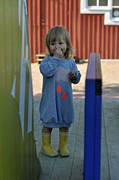 Sweater dress for the littlest - Paul&Paula blog: bang bang copenhagen