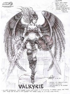 Norse Valkyrie | Valkyrie by artstain on deviantART