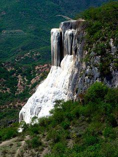 Hierve el Agua, Oaxaca. Petrified waterfall!!