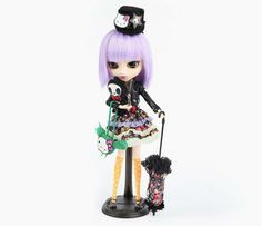 tokidoki x Hello Kitty Violetta Pullip Special ....my first pullip doll lol
