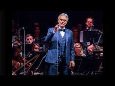 (46) Andrea Bocelli performs with the Detroit Symphony Orchestra at Little Caesars Arena in Detroit - YouTube