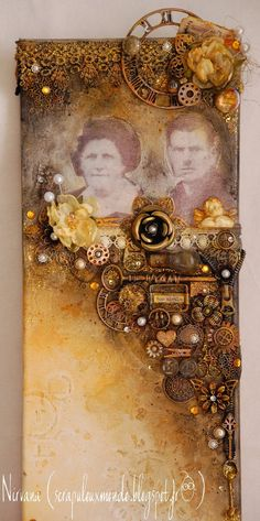 Mon Scrap'uleux Monde!: Mixed Media