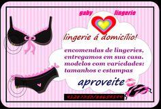 Encomendas de lingerie, entregamos em sua casa. Modelos com variedades, tamanhos e estampas http://www.locutorteixeirasantos.com/2014/03/a-empresa-click-dreams-tem-um-plano.html