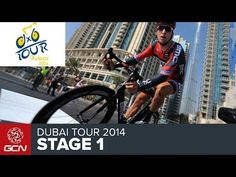 Dubai Tour - How To Get Aero Without A Time Trial Bike - Stage 1 Time Trial - YouTube
