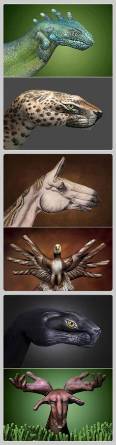 6 excellent hand-painted artworks 7-10