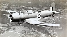 The Vought Vindicator SB2U , in the Royal Navy Fleet Air Arm became the Chesapeake .