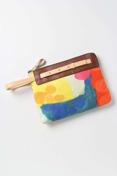In The Abstract Clutch | Anthropologie