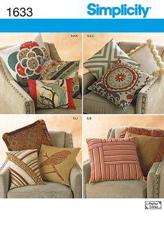 Simplicity 1633 - Pillows