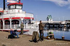Kappeln die idyllische Hafenstadt an der Schlei // Foto: MeerART