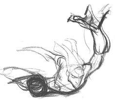 Living Lines Library: Tarzan (1999) - First Sketches, Tarzan Anatomy & Hands