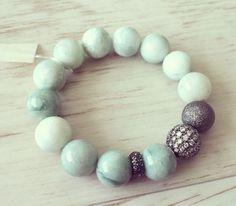 No.11 / Jewelry Bracelet Accessory Fashion Design DIY Handmade Crafts 팔찌 쥬얼리 연예인팔찌 핸드메이드 원석쥬얼리