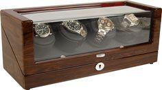 Spencer | Wooden Watch Winder | the jewel box shop Wooden Watch, Jewel Box, Automatic Watch, Shop, Wood Watch, Jewelry Storage, Wooden Clock, Jewellery Box, Coffer