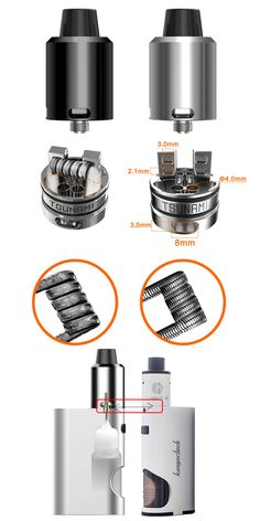 Geekvape Tsunami 24 RDA   /   ♦Hollow positive pin for Squok MOD ,     ♦Improved Velocity style deck ,     ♦Adjustable Kennedy style airflow ,      ♦Available for single or dual coil ,      ♦Three types of drip tips      #efuntop #vape #vaping #ecig       http://www.efun.top/geekvape-tsunami-24-rda.html