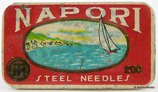 NAPORI (Naples or Napoli) brand gramophone needle tin. **FREE SHIPPING**