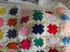 Crochet Blanket Granny style  Cuddle blanket (nannycheryl original) ID 698 £35.00